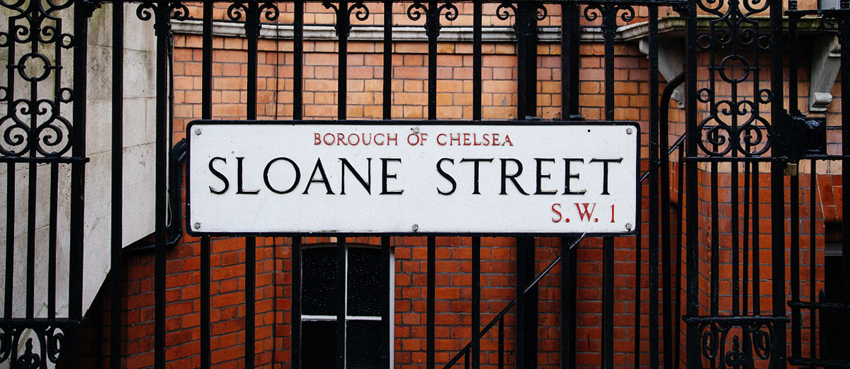 Chelsea Road Sign